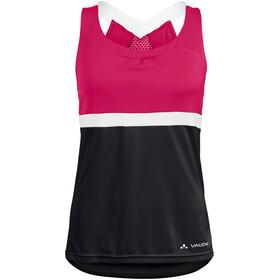 VAUDE Advanced Top Women, black/pink